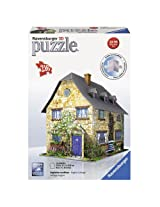 Ravensburger 3D Puzzles Cottage, Multi Color (216 Pieces)