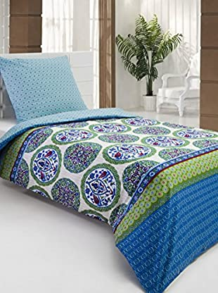 Cotton Box Bettwäscheset Satin Sahsultan Green (mehrfarbig)