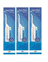 Aqua Floss Oral irrigator and Water Floss (Pack of 3)