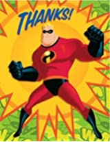 The Incredibles Thanks! Thank You Cards For Kids (14)