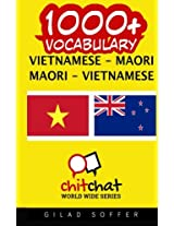 1000+ Vietnamese-maori Maori-vietnamese Vocabulary