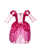 Disney Princess Ariel Pink Bling Ball Dress