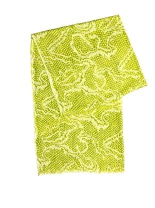 Mango Schal Tele (Lime)