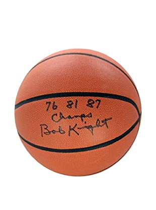 Steiner Sports Memorabilia Bob Knight Autographed NCAA Basketball Inscribed