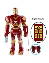 Rvold Interactive Iron Man Mark III Remote Control Robot 20 Iches