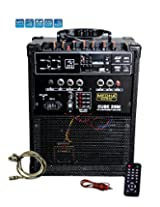MEDHA Portable Rechargeable PA Amplifier Cube-28 with Speaker & Digital Media Player