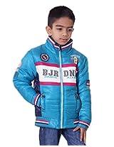 LITTLE BUGS Boy's Full Sleeve Nylon Jacket -Sky