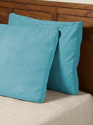 Pikolin Cojín Ante Ecológico (Azul)