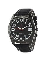 Svviss Bells Stylish Black Dial Black Watch