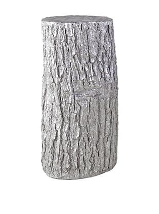 Phillips Collection Log Pedestal, Silver