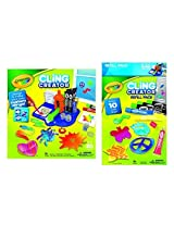 Crayola Cling Creator And Refill Gift Set