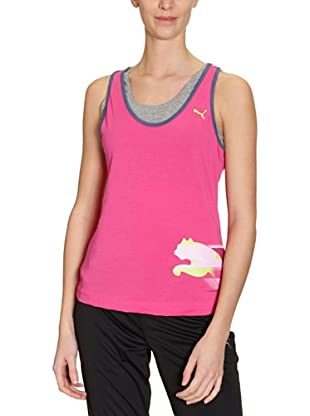 PUMA Tank Top Move Graphic (raspberry rose)