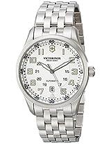 Victorinox Men's 241506 AirBoss Analog Display Swiss Automatic Silver Watch