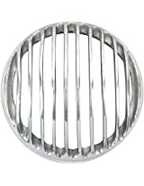 B Unit Silver Head Light Grill For Royal Enfield