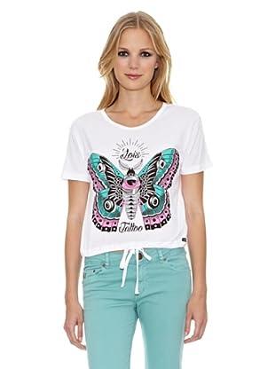 Lois Camiseta Natalina (Blanco)