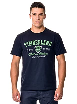 Timberland Camiseta M/M (Azul oscuro)