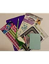 Glitter Tattoos Pencil Pouch Notepad Art Skills Duct Tape Trendz Adhesive Boarders Magnetic Mirror & More