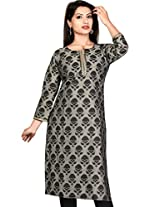Handloom cotton Block fancy Kurtis (Size : X-Large)