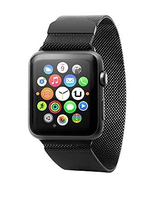 Unotec  Armband Metal Watch 42 mm schwarz