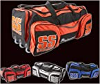 SS Matrix Cricket Kit Bag, Black
