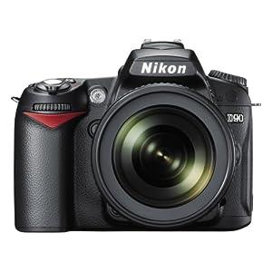 Nikon D90 SLR Black with AF-S 18-105mm VR Kit Lens With 4 GB Card,DSLR Bag