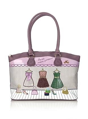 Hoy Collection Borsa Ada Paris Mon Amour (Multicolore)