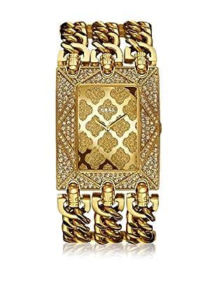 Guess Reloj de cuarzo Woman Dorado 39 mm