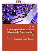 Auto-Organisation Dans Les Reseaux de Capteurs Sans Fil (Omn.Univ.Europ.)