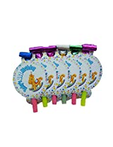 1st birthday boy party blowouts (pack of 12 pieces)