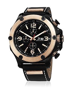 Joshua & Sons Uhr mit Schweizer Quarzuhrwerk JS75RG 48 mm