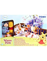 Funskool Tomy Winnie The Pooh Light-Up Cot Mobile