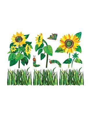 Beiwanda Kids Wandtattoo Die kleine Raupe Nimmersatt - Sonnenblumen