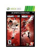 MLB NBA 2K Sports Combo XB360