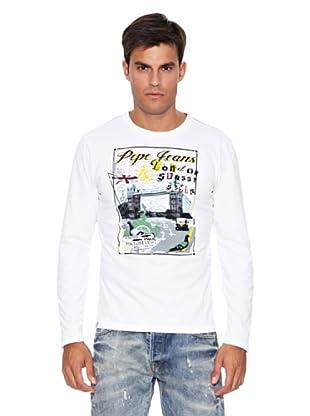 Pepe Jeans London Camiseta Weston T (Blanco)