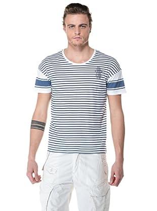 Diesel Camisa Lennier (Blanco / Azul)
