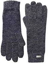 Coal Women's The Lauren Mohair-Blend Space Dye Glove, Navy, One Size