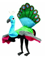Hape Hand Glove Puppet Peacock, Multi Color