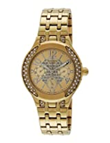 Casio Multi Function Analog Gold Dial Women's Watch - SHE-3803GD-9AUDR(SX138)