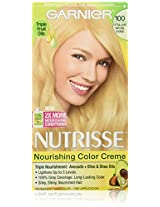 Garnier Nutrisse Haircolor, 100 Extra-light Natural Blonde Chamomile