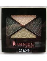 Rimmel London Glam Eyes Quad Eye Shadow Green Sapphire #024