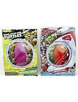 Teenage Mutant Ninja Turtles And Marvel Avengers Beach Balls Bundled!