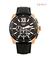 Esprit Analog Black Dial Men's Watch - 3182