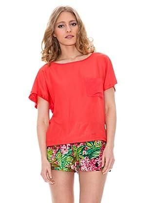 Springfield Blusa Camiseta (Rojo)