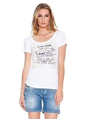Pepe Jeans London T-Shirt Angela (Weiß)
