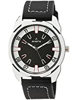 Aveiro Fashion Analog Black Men's Watch (AV46BLKWBLK)