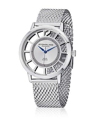 Stührling Uhr mit Schweizer Quarzuhrwerk Winchester Del Sol Elite silberfarben 40 mm