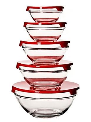 Martin Berasategui Set De 5 Bowls De Cristal