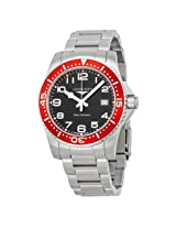 Longines Hydroconquest Black Dial Stainless Steel Bracelet Men'S Watch - Lng36894596
