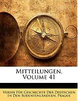 Mitteilungen, Volume 41