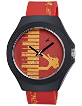 Fastrack Multicolour Dial Watch For Unisex - 38004PP03J